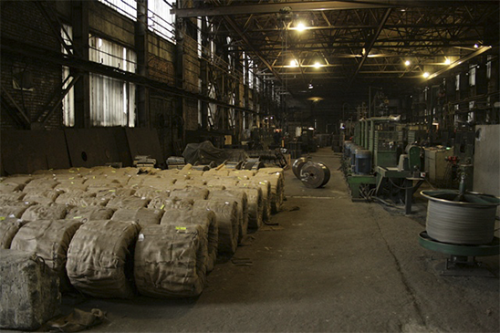 produkcji drutu