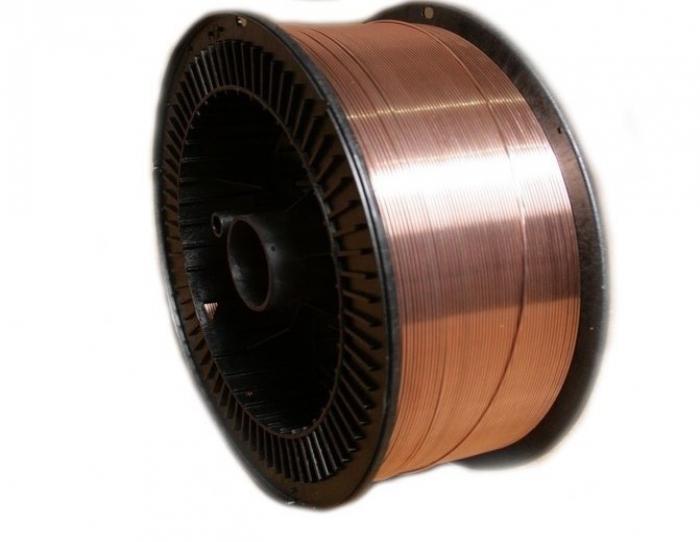 Drut do spawania omiedziany 2246-70, Ñâ08ã2ñ GOST ISO 14341-a, plastikowe k300 kasety G4Si1 15 kg.