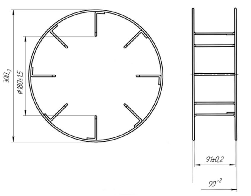 Проволочные кассеты для намотки проволоки (15-18 кг)
